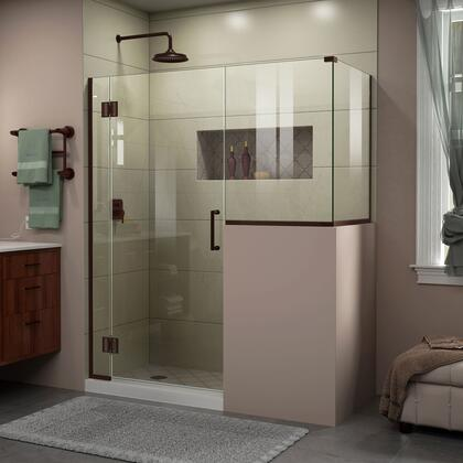 Unidoor X Shower Enclosure 6HP 30D 24BP 30RP 06