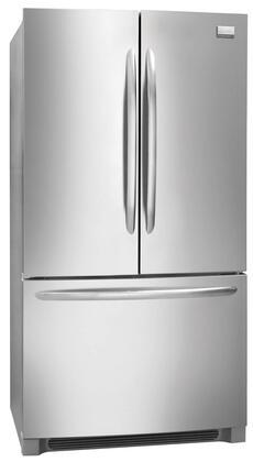 Frigidaire FGHG2344MF Gallery Series Counter Depth Bottom Freezer Refrigerator with 22.6 cu. ft. Total Capacity 6.9 cu. ft. Freezer Capacity 4 Glass Shelves