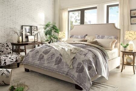 Diamond Sofa KINGSTONSDCKBED Kingston Series  California King Size Panel Bed