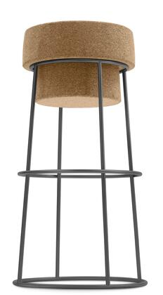 Domitalia BOUCHRSA0FAB Bouchon-Sga Series Residential Not Upholstered Bar Stool