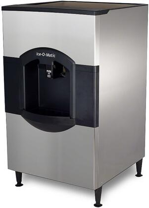 Ice-O-Matic CD40 Cube Ice Dispenser with  Dispense Operation, Power Clean, Turbo Dispense, Fingerprint-Proof Plastic and Corrosion-Resistant Stainless Steel