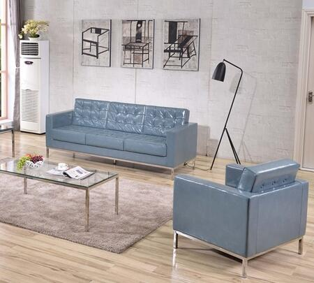 Flash Furniture ZBLACEY8312SCGYGG Hercules Lacey Living Room