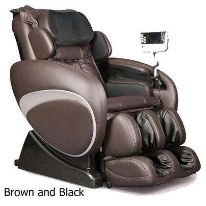 Osaki OS4000BROWNBLACK Full Body Shiatsu/Swedish Massage Chair