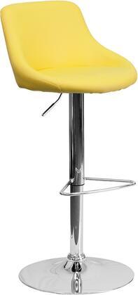 Flash Furniture CH82028MODYELGG Residential Vinyl Upholstered Bar Stool