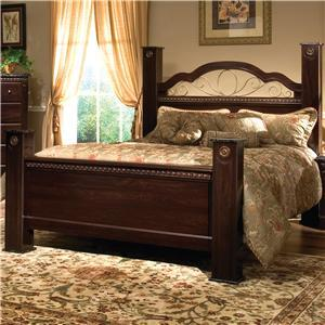 Standard Furniture 4016A Sorrento Series  King Size Poster Bed