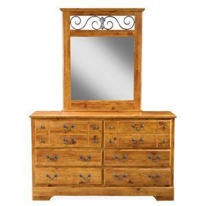 Standard Furniture 5059A Scotsdale Series  Dresser