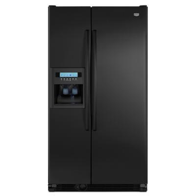 Maytag MCD2358WEB  Counter Depth Side by Side Refrigerator with 23.1 cu. ft. Capacity in Black