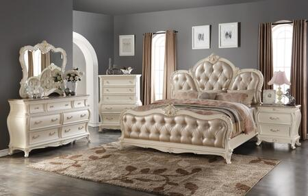 Meridian MARQUEEQDMCN Maquee Queen Bedroom Sets