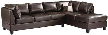 Glory Furniture G645BSC G640 Series Sofa and Chaise Bycast Leather Sofa