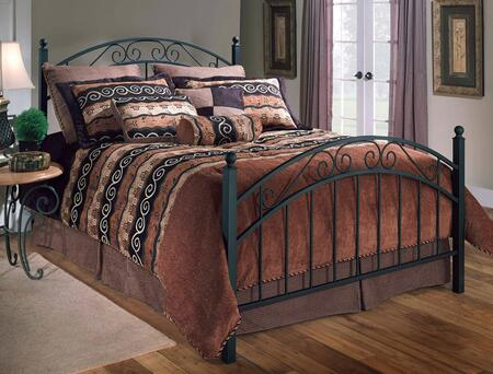Hillsdale Furniture 1142BKR Willow Series  King Size Poster Bed
