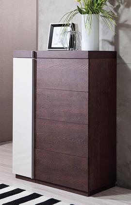 VIG Furniture VGWCG509 Modrest Geneva Series Veneers Chest