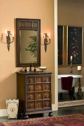Ambella 10401140022 Augustine Series Rectangular Portrait Wall Mirror