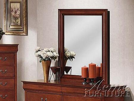 Acme Furniture 09804 Louis Philippe II Series Rectangular Portrait Dresser Mirror