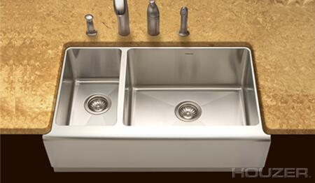 Houzer EPO3370SL1 Kitchen Sink