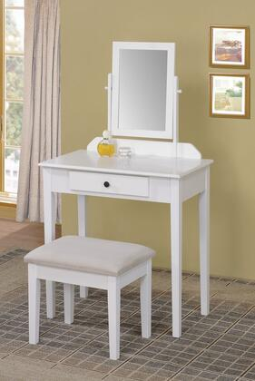 Acme Furniture 90043 Jamy Series Wood 1 Drawers Vanity