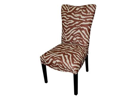 Stein World 12138 Armless Fabric Wood Frame Accent Chair