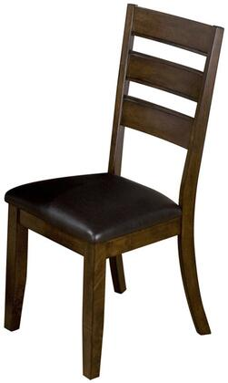 Jofran 337923KD Tyler Series Chair with Wood Frame in Brown Cherry