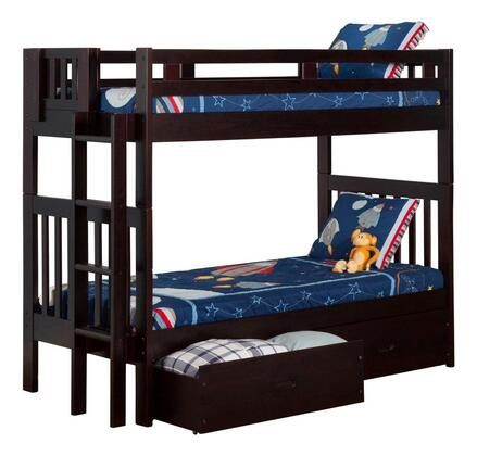 Atlantic Furniture AB63111  Twin Size Bunk Bed