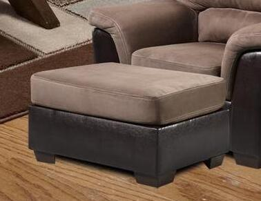 Chelsea Home Furniture 6205 Verona IV Annabelle Ottoman, with 1.8 Density Foam Cushion, Hardwood, Softwood and Engineered Wood Construction, and Polyester Upholstery