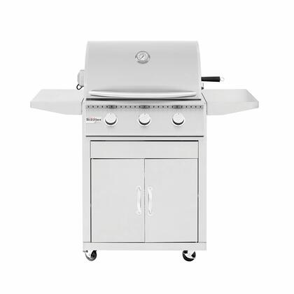 Summerset Grills CARTSIZx Sizzler Series Freestanding Cart for X Grill, in Stainless Steel