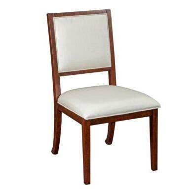 Broyhill 8053581 Antiquity Series Contemporary Fabric Wood Frame Dining Room Chair