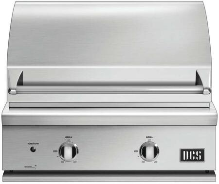 """DCS BGC30BQL 30"""" Built-In Grill, in Stainless Steel"""