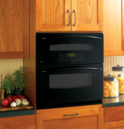 "GE Profile PT925 30"" Single-Double Electric Wall Oven with 5.0 cu. ft, PreciseAir Convection Oven, Self-Clean Ovens, In-the-Door ShadowTouch Controls and ADA Compliant In"
