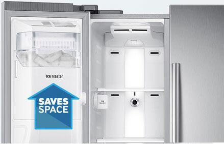 Large Capacity · Samsung Automatic In Door Ice Maker ...