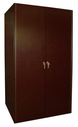 Vinotemp 600E 440 Bottle Double Door Wine Cabinet with Wine Mate Cooling,