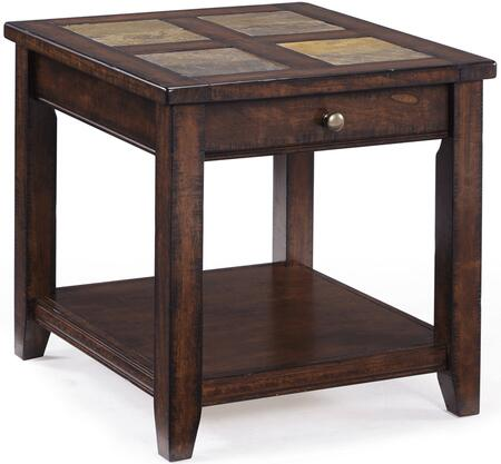 Magnussen T181003 Allister Series Contemporary Rectangular End Table