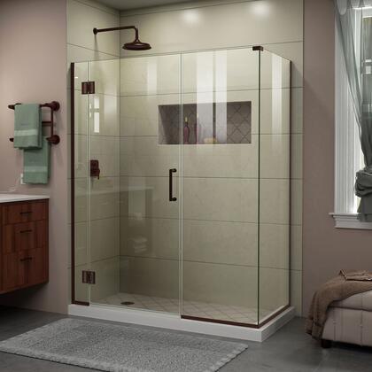 DreamLine Unidoor X Shower Enclosure 6HP 30D 22IP 30RP 06