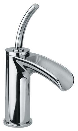 Jewel Faucets 10211JOXX Single Joystick Handle Lavatory Faucet With Waterfall Spout