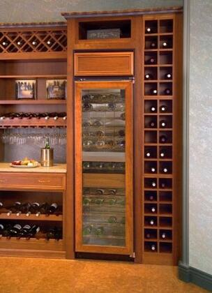 "Northland 18WCBGXL 18"" Built-In Wine Cooler, in Stainless Steel"