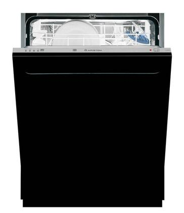 Ariston LI640BNA  Built-In Fully Integrated Dishwasher with in Black