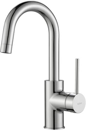 Kraus KPF2600 Oletto Series Cast Spout Kitchen Bar Faucet with Solid Brass Construction, QuickDock Technology, and Ceramic Cartridge