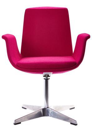 VIG Furniture VGOBTY67FUS Modrest Dacia Series Armchair Fabric Metal Frame Accent Chair