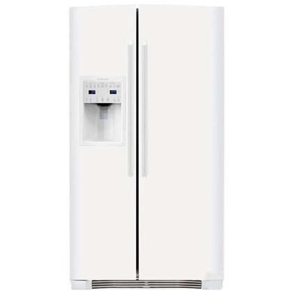 Electrolux EI26SS30KW  Side by Side Refrigerator with 25.95 cu. ft. Capacity in White