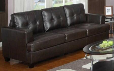 Yuan Tai 1080SCHO  Stationary Bonded Leather Sofa