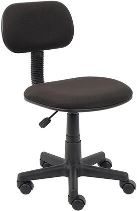 "Boss B205BK 22"" Adjustable Contemporary Office Chair"