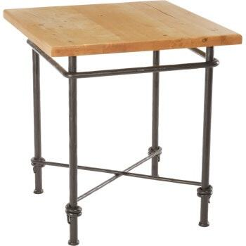 Stone County Ironworks 900950HPN  End Table