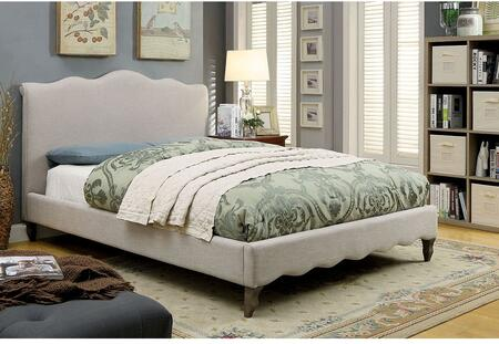 Furniture of America CM7722CKBED Rolanda Series  California King Size Bed
