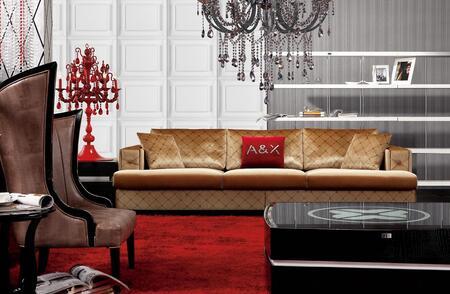 VIG Furniture VGUNAX003 Modern Fabric Living Room Set