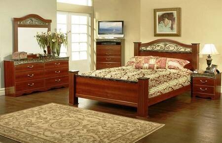 Sandberg 330E Durban Series 3 Piece Bedroom Set