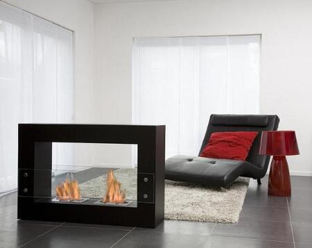 Bio-Blaze BBQ010 Large Cube Bio Ethanol Burning Fireplace
