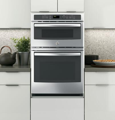 Ge Jk3800dhww 27 Inch Oven Microwave Combo Double Wall In White Liances Connection