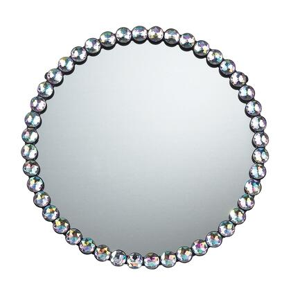 Sterling 5110018 Jewel Edged Series Round Both Wall Mirror