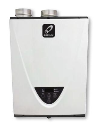 Takagi TH3SDV Indoor High Efficiency Condensing Tankless Water Heater, with Energy Star Rating, 8.0 Max GPM, Erosion Resistant Primary Heat Exchanger, Built-in Temperature Control, and Electronic Ignition