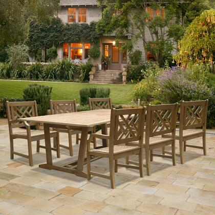 Vifah V1294SET7 Renaissance Patio Sets