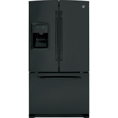 GE GFSF6KKXBB  French Door Refrigerator with 25.9 cu. ft. Total Capacity 3 Glass Shelves |Appliances Connection