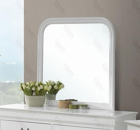 Glory Furniture G3190M  Square Both Dresser Mirror
